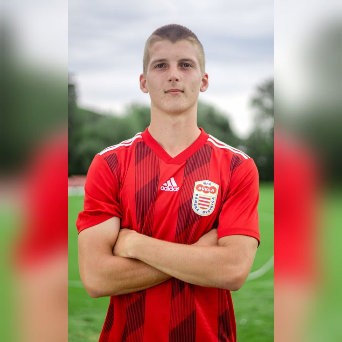 Adam Červeň debutoval v A- tíme MFK Dukla