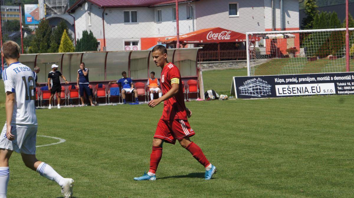 Adam Hanes debutoval v A- tíme MFK Dukla