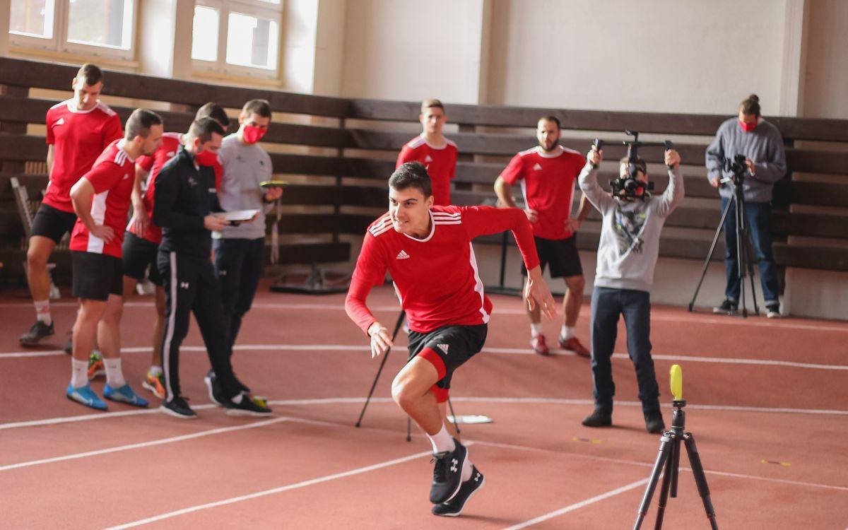 Hráči A- tímu absolvovali odborné fyzické testovanie