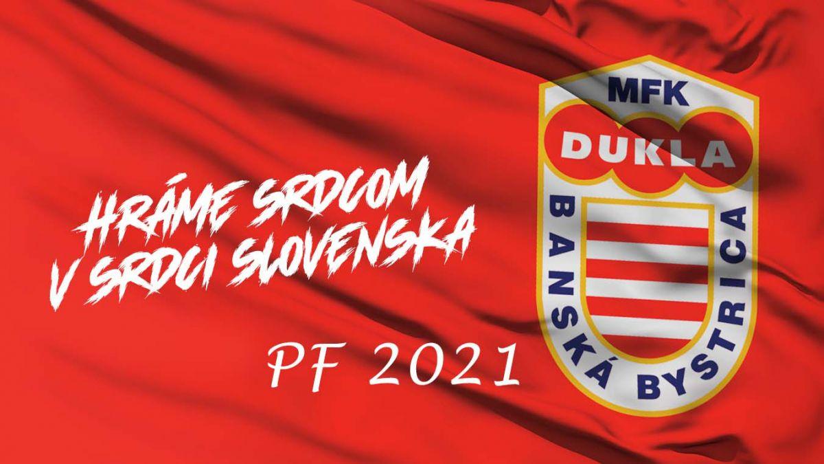 MFK Dukla Vám želá všetko najlepšie do roku 2021!