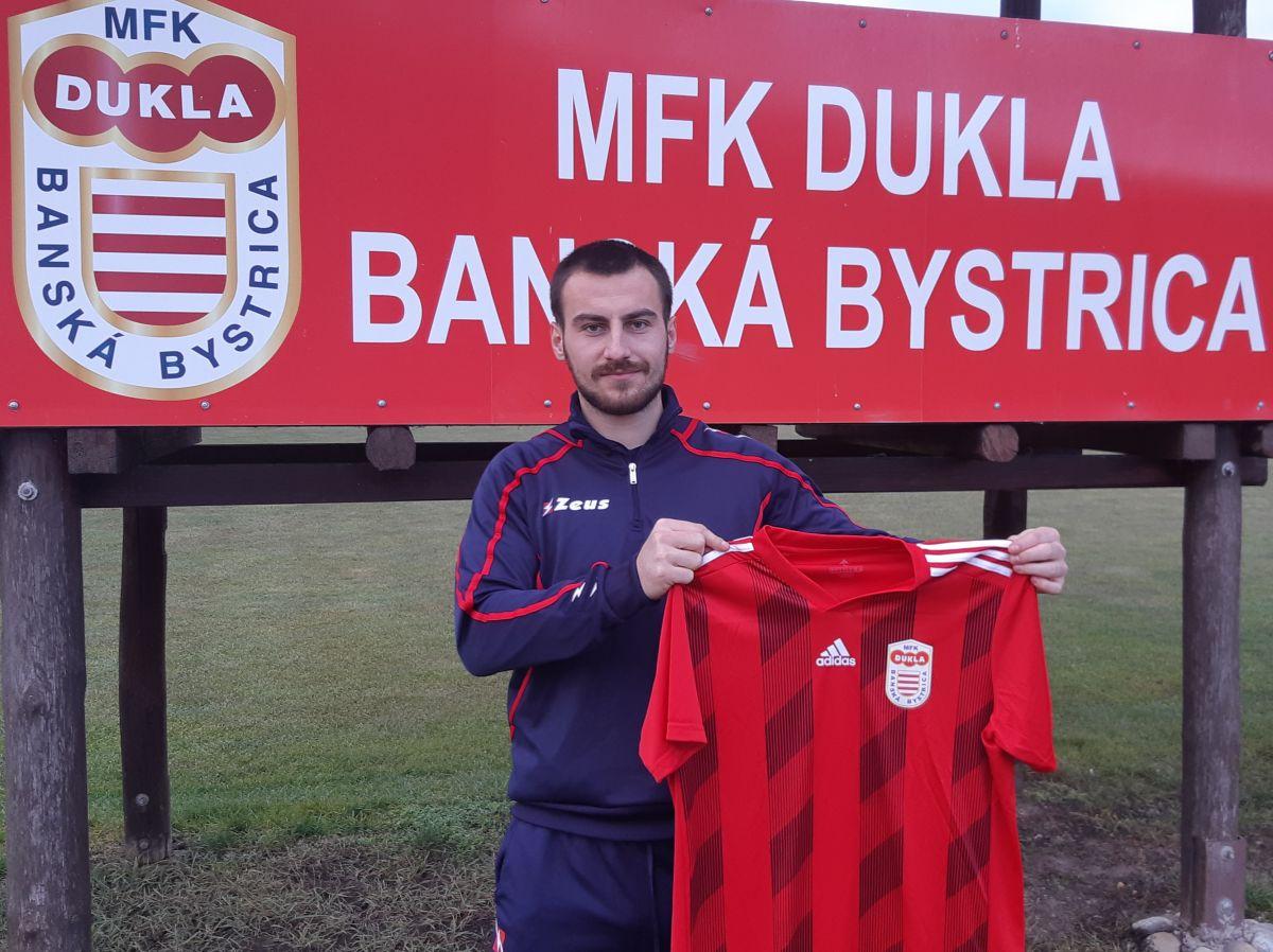 Posilou MFK Dukla Miladin Vujošević