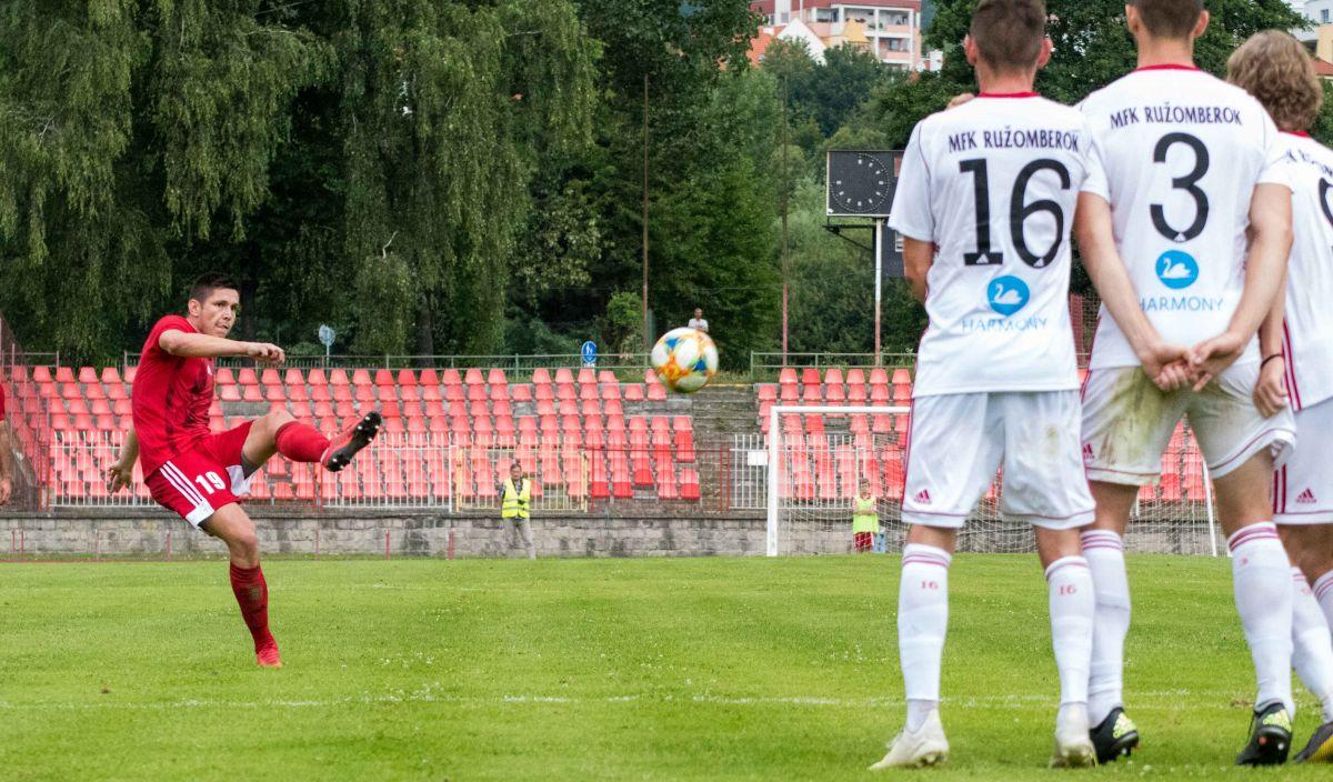 Skrytým snom Fortuna liga v drese MFK Dukla