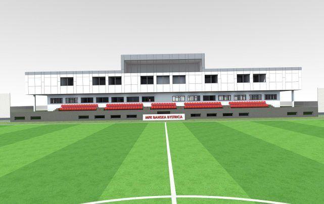 V Banskej Bystrici pribudne čoskoro krásny mládežnícky futbalový štadión